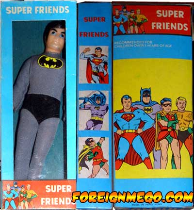 Mego Superfriends figure